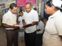அரசு ஆரம்ப சுகாதார நிலையங்கள் – மாவட்ட ஆட்சியர் ஆய்வு