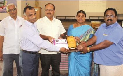 நாமக்கல் மாவட்டத்தில், சிறந்த நூலக பள்ளிக்கான விருது வழங்கல் விழா!
