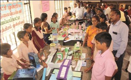 அப்துல் கலாம் பிறந்தநாள் விழா : நாமக்கல்லில் அறிவியல் கண்காட்சி!