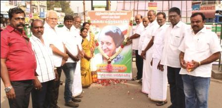 நாமக்கல் கிழக்கு மாவட்ட காங்கிரஸ் சார்பில் இந்திராகாந்தி பிறந்தநாள் விழா கொண்டாட்டம்